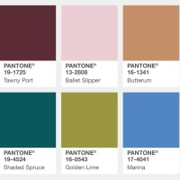 FALL - WINTER 2017- 18 PANTONE: NEW YORK FASHION WEEK INSPIRATION