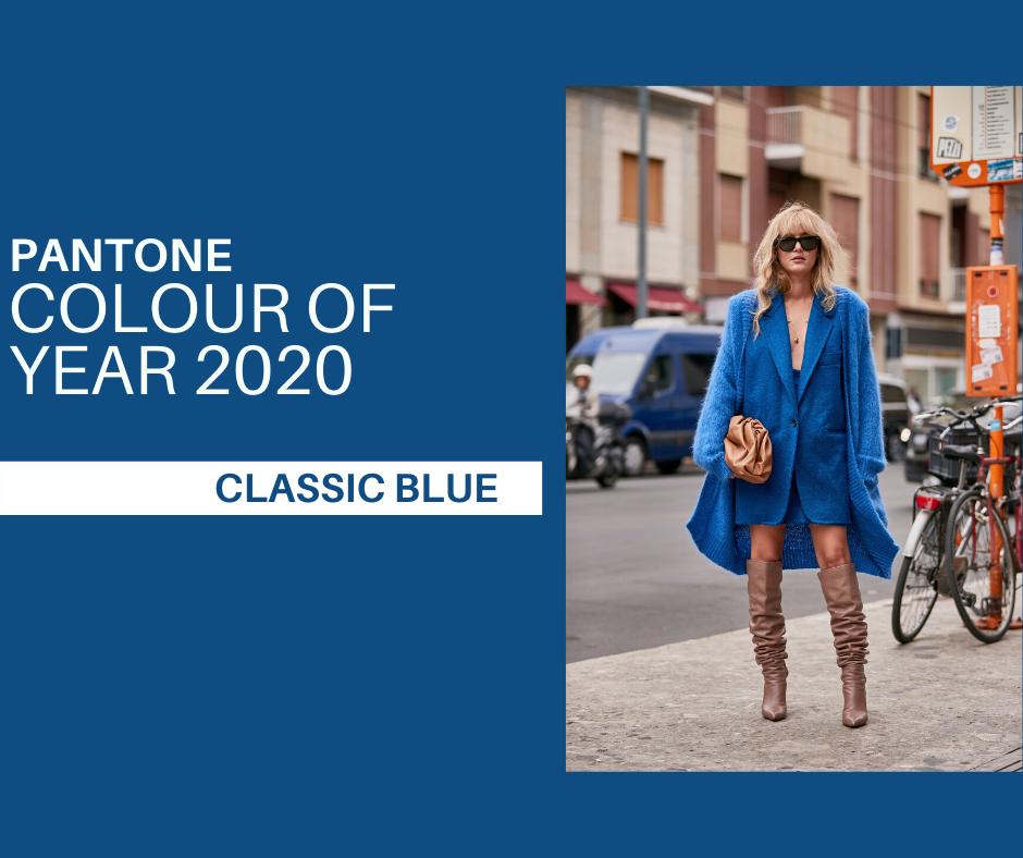 Resultado de imagen de classic blue pantone outfit
