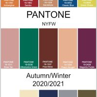 NEW YORK FASHION WEEK COLOR PALETTE FOR AUTUMN/WINTER 2020/2021