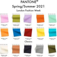 FASHION COLOR TREND REPORT: LONDON FASHION WEEK SPRING/ SUMMER 2021